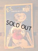 E.T. Tin Backs ビンテージ ET イーティー 80's 缶バッジ バッチ ヴィンテージ