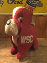 Washington State College Stuffed Felt Dog