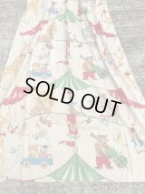 Circus Animal Curtain Sheet