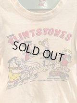 60's Hanna Barbera The flintstones Kids T-shirt 60年代 ハンナバーベラ フリントストーン キッズ Tシャツ 染み込みプリント ビンテージ ヴィンテージ