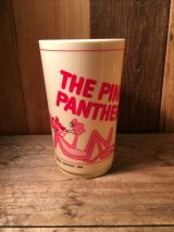 70's The Pink Panther Cup 70年代 ビンテージ ピンクパンサー プラスチックカップ ヴィンテージ