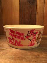 70's The Pink Panther Bowl  70年代 ビンテージ ピンクパンサー プラスチックボール ヴィンテージ