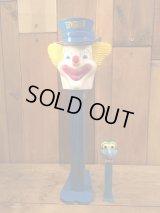 Giant PEZ Clown dispenser ビンテージ ジャイアント ペッズ ディスペンサー ピエロ ビックサイズ ヴィンテージ