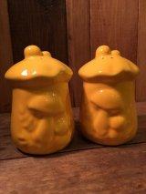 70's Mushroom Salt & Pepper 70年代 ビンテージ きのこ ソルト アンド ペッパー ヴィンテージ セラミック(陶器)製