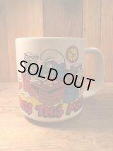 SMURF Vintage Mug Cup ビンテージ スマーフ 陶器製 マグカップ 80年代 ヴィンテージ