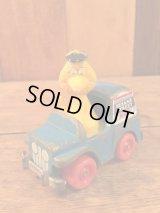 Sesame Street Big Bird Mini Car Figure ビンテージ セサミストリート Tin製 ミニカー フィギュア ビッグバード ジムヘンソン 80年代 ヴィンテージ