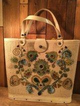 60's jeweltone Vintage bag ビンテージ ジュエルトーン スパンコール ジュエリービーズ バック 60年代頃 ヴィンテージ