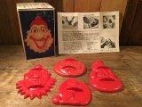 Clown Vintage  Cookie Cutters ビンテージ クッキーカッター クラウン ピエロ ハロウィン カボチャ スノーマン 雪だるま ウサギ 60年代 ヴィンテージ