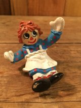 80s Raggedy Ann & Andy PVC Figure Meal Toy ビンテージ ラガディアン &アンディ ミールトイ マクドナルド PVC製 80年代 ヴィンテージ