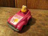 80's McDonald's  Meal Toy Mini Car Fast Macs ビンテージ マクドナルド ミニカー ファーストマック プルバック バーディ 80年代 ヴィンテージ