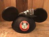 Disney Vintage Ear Hat ビンテージ ミッキーマウスクラブ イヤーハット キッズサイズ ヴィンテージ