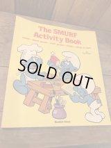 SMURF Vintage  Book ビンテージ スマーフ アクティビティブック 80年代 未使用 ヴィンテージ