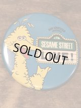 Sesame Street Big Bird Can Badge ビンテージ セサミストーリート ジムヘンソン ビッグバード 缶バッジ 80年代