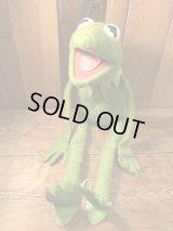 70's Kermit the Frog Doll 70年代 カーミット ドール ビンテージ ヴィンテージ フィッシャープライス マペッツ ジムヘンソン