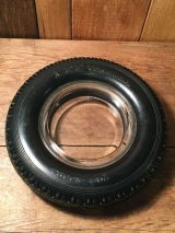 LEE Gum Dipped Hard Rubber TIRE Ashtray  ビンテージ リー タイヤ 灰皿 アシュトレイ 50年代 60年代 ヴィンテージ