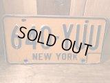 New York Vintage  LICENSE PLATES ビンテージ ニューヨーク アメリカ ライセンスプレート ナンバープレート ヴィンテージ