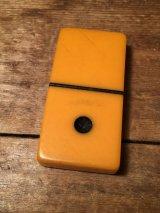 50's Bakelite Butterscotch Catalin Dominoes ビンテージ ベークライト ドミノ 50年代 ヴィンテージ
