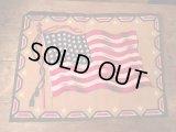 Vintage Tobacco Flag USA 48 Stars  ビンテージ タバコ フラッグ タバコフェルト アメリカ 星条旗 48スター ヴィンテージ
