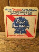 Pabst Blue Ribbon Beer Coasters ビンテージ ブルーリボン ビール ペーパーコースター ヴィンテージ