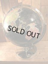 VIntage REPLOGLE Globe Black Ocean ビンテージ 地球儀 ブラックオーシャン リプルーグル社製 60年代 ヴィンテージ