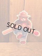 Smokey Bear スモーキーベア アドバタイジング 企業キャラクター マグネット
