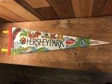 Pennant Vintage Hersheypark ビンテージ ペナント ハーシーパーク スーベニア 不織布 80年代頃 ヴィンテージ