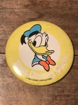 Disney Vintage Donald Duck Can Badge ビンテージ ディズニー ドナルドダック 缶バッジ 70年代 80年代 ヴィンテージ