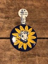 Borden's Elsie Badge ビンテージ ボーデン エルシー バッチ バッジ アドバタイジング 企業キャラクター 企業物 アメリカ雑貨 ヴィンテージ 60年代