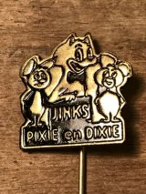 Pixie and Dixie Hat Pin ビンテージ ハンナバーベラ チュースケとチュータ ハットピン 60年代頃 ヴィンテージ