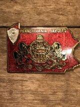 Souvenir Vintage Pin Backs 70's 80's ビンテージ メタル製 ピンバッジ スーベニア お土産 70年代 80年代 ヴィンテージ