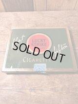 Vintage Lucky Strike Tobacco Can ビンテージ ラッキーストライク タバコ ケース Tin製 50年代頃 ヴィンテージ