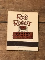 Roy Rogers Book Match ビンテージ ロイロジャース ブックマッチ ファーストフード 70年代 ヴィンテージ vintage