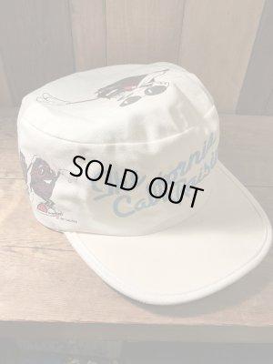 企業キャラクターのカリフォルニアレーズンズのヴィンテージ帽子