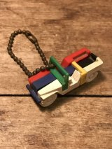Puzzle Keychain ビンテージ パズルキーチェーン キーホルダー 車 50年代 ヴィンテージ vintage