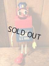 Mr.Mail Box Funny Bend Figure ビンテージ アドバタイジング 企業キャラクター フィギュア 60年代 ヴィンテージ vintage