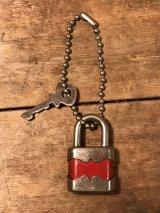 Mini  Padlock Keychain ビンテージ 南京錠 キーチェーン パドロック 70年代 ヴィンテージ vintage