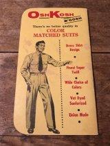 Osh Kosh Time Book ビンテージ オシュコシュ タイムブック ワーク 古着 60年代 ヴィンテージ vintage