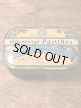Allenburys Pastilles Tin Can ビンテージ トローチ 缶 50年代 ヴィンテージ vintage