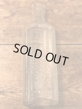 California Fig Syrup Co. Bottle ビンテージ 薬品 瓶 ビン ガラスボトル 1900年代 アンティーク ヴィンテージ vintage