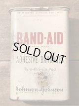 Band Aid Tin Can バンドエイド ビンテージ 缶 ブリキ 40年代 WWII ヴィンテージ vintage