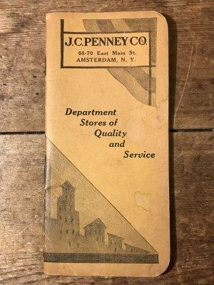20年代頃のJCペニーのビンテージタイムブック