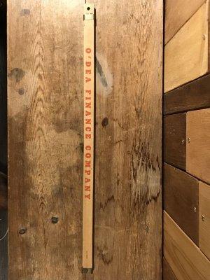 アドバタイジング物の木製のヴィンテージ定規