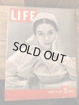 40's Life Magazine ライフマガジン ビンテージ 広告 企業 アドバタイジング 40年代 ヴィンテージ vintage