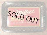 Miller High Life Tin Tray ミラーハイライフ ビンテージ トレイ ビール アドバタイジング 50年代 お盆 ヴィンテージ vintage