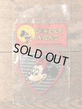 Disney Minnie Mouse Patch ミニーマウス ビンテージ ワッペン 80年代 ディズニー パッチ ヴィンテージ vintage