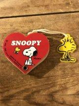 Snoopy Peanuts Mini Note スヌーピー ビンテージ メモ帳 80年代 ピーナッツ ヴィンテージ vintage
