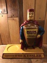 Kessler Whiskey Display Figure アドバタイジング ビンテージ ウイスキー フィギュア ディスプレイ 企業キャラクター 50年代 スタチュー ヴィンテージ vintage