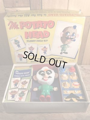 画像1: Hasbro Mr Potato Head Funny Face Kit ポテトヘッド ビンテージ ハスブロ 50年代 トイ ヴィンテージ vintage
