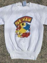Pac Man Kids Sweat パックマン ビンテージ スエット 80年代 キッズ ゲームキャラクター ヴィンテージ vintage