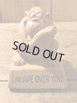 Ape Mini Message Doll メッセージドール ビンテージ 動物 70年代 置物 シリスカルプ ヴィンテージ vintage